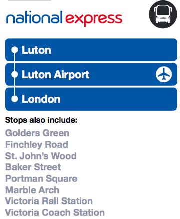luton to london bus