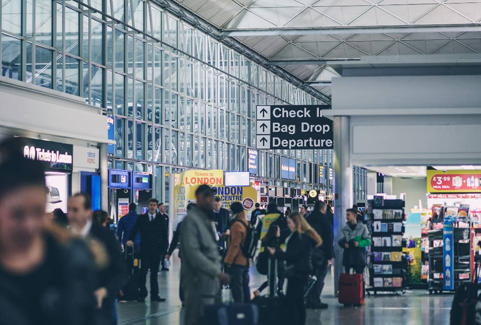 stansted airport departure