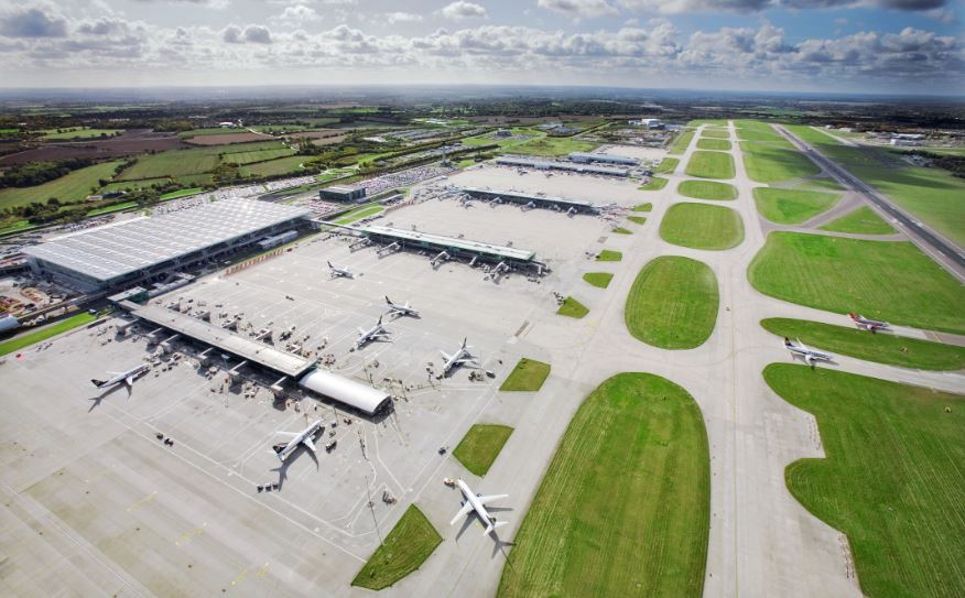 stansted airport planes