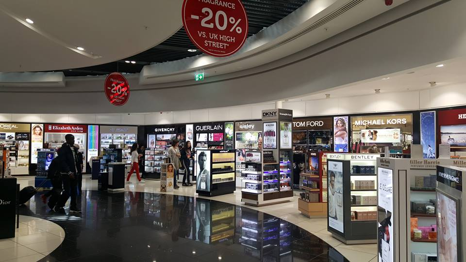 stansted airport shops