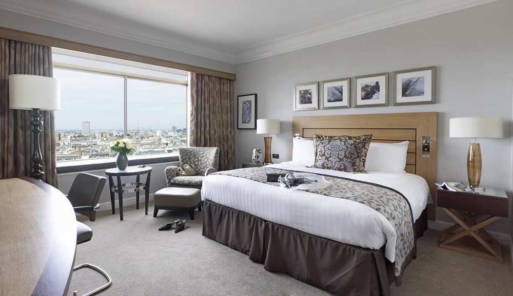 hilton london room view