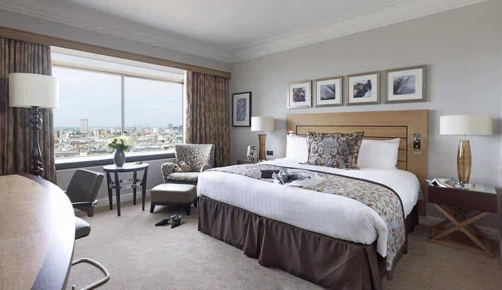 hilton london room view