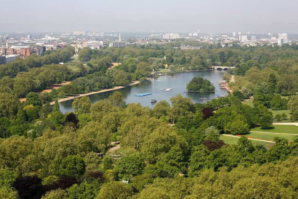 hotel view over hyde park
