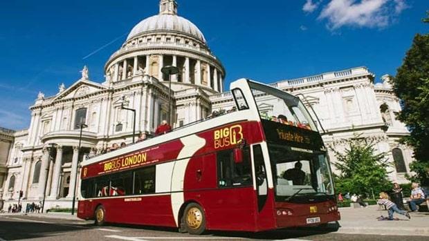 sightseeing bus tour london