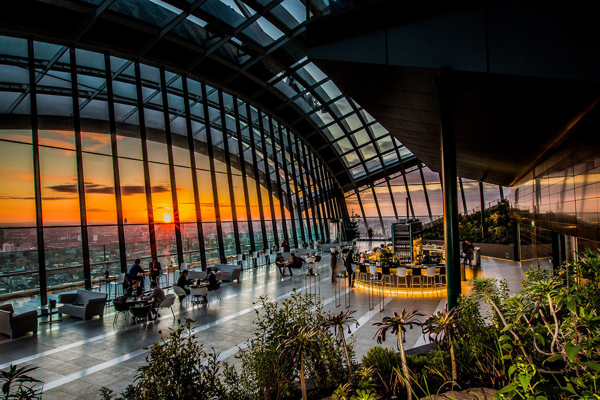 Sky Garden In London - The Free Rooftop Bar With The Best View